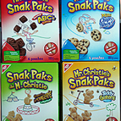 Introducing Mr. Christie's Snak Paks