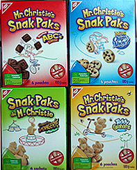 Mr Christie's Snak Paks